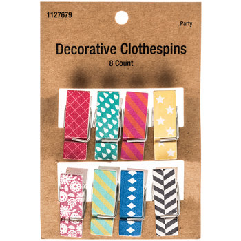 Decorative Clothespins